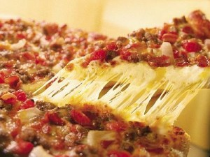 minced meat pizza